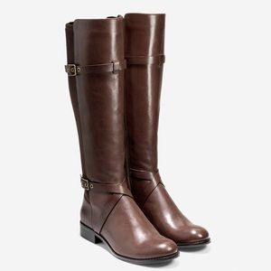 Cole Haan Dorian Tall Stretch Riding Boots 8.5AA